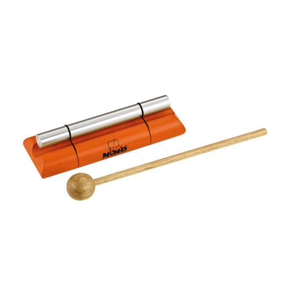 Meinl NINO579S-OR Percussion Small Energy Chimes, Orange