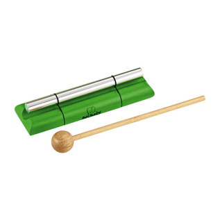 Meinl NINO579M-GR Percussion Medium Energy Chimes, Green