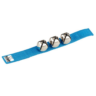 Meinl NINO961B Percussion Wrist Bells Blue