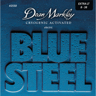 Dean Markley XL Blue SteelElectric Guitar Strings, 8-38