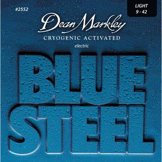 Dean Markley Light Blue SteelElectric Guitar Strings, 9-42
