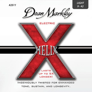 Dean Markley Light Helix Electric Guitar Strings, 9-42