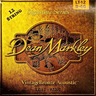 Dean Markley 12-St Vintage Bronze Signature Acoustic Strings, 9-46/24