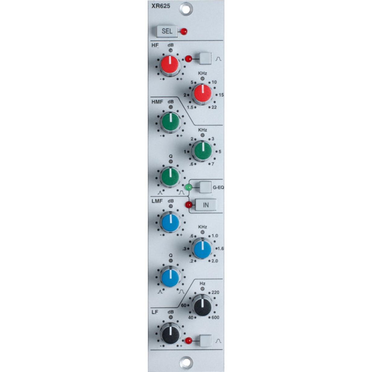 Ssl Xrack Eq Module Xr625 Four Band Gear4music