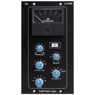 SSL 500 Series Stereo Bus Compressor Module