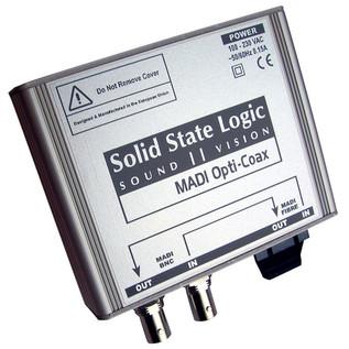 SSL ALogic Delta Link MADI Opti-Coax