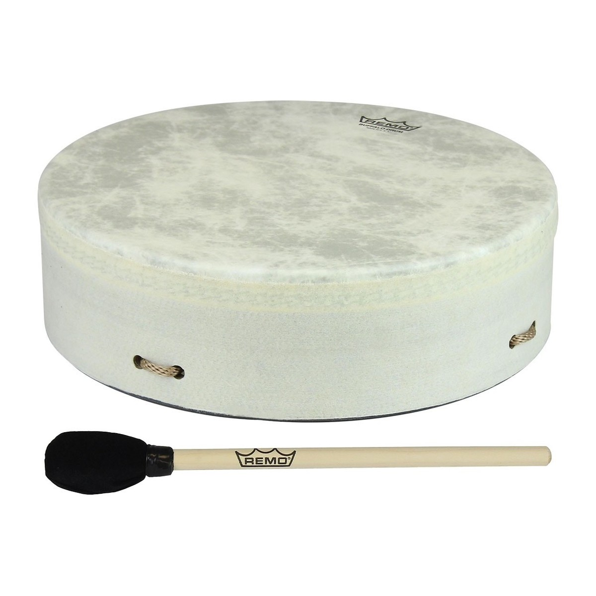 Click to view product details and reviews for Remo Standard Buffalo Drum 14 X 35 White.