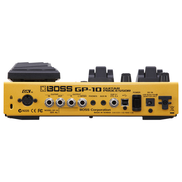 boss gp 10gk guitar processor with gk 3 pickup and cable at gear4music. Black Bedroom Furniture Sets. Home Design Ideas