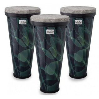 Remo 3 Piece Timbau Pack, Green