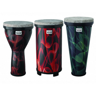 Remo Versa Sample Pack Including Djembe, Timbau and Tubano