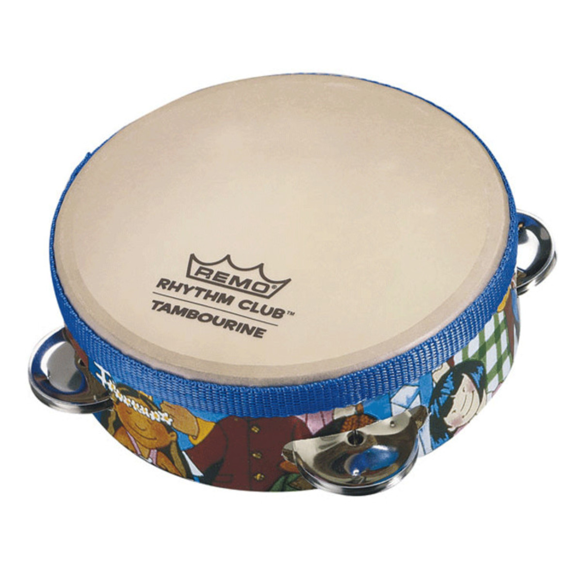 Click to view product details and reviews for Remo Rhythm Club Tambourine 65 X 175 Inch.