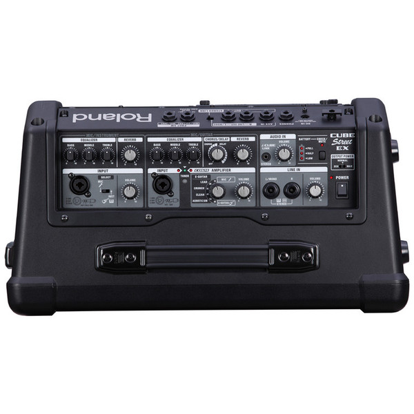 Roland Cube Street Ex Battery Powered Stereo Amplifier At
