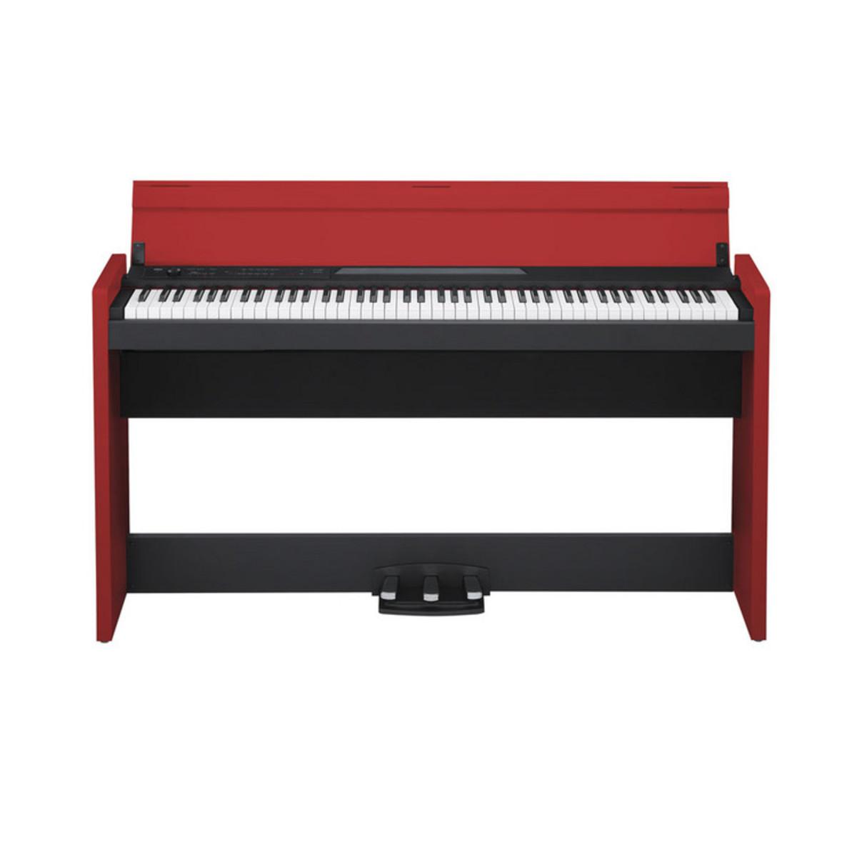 disc korg lp 380 digital piano black and red at gear4music. Black Bedroom Furniture Sets. Home Design Ideas