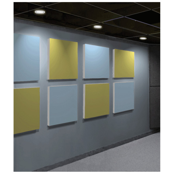 Primeacoustic Paintable Acoustic Panels 24 x 24""