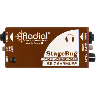 Radial StageBug SB-7 EarMuff Headphone Mute