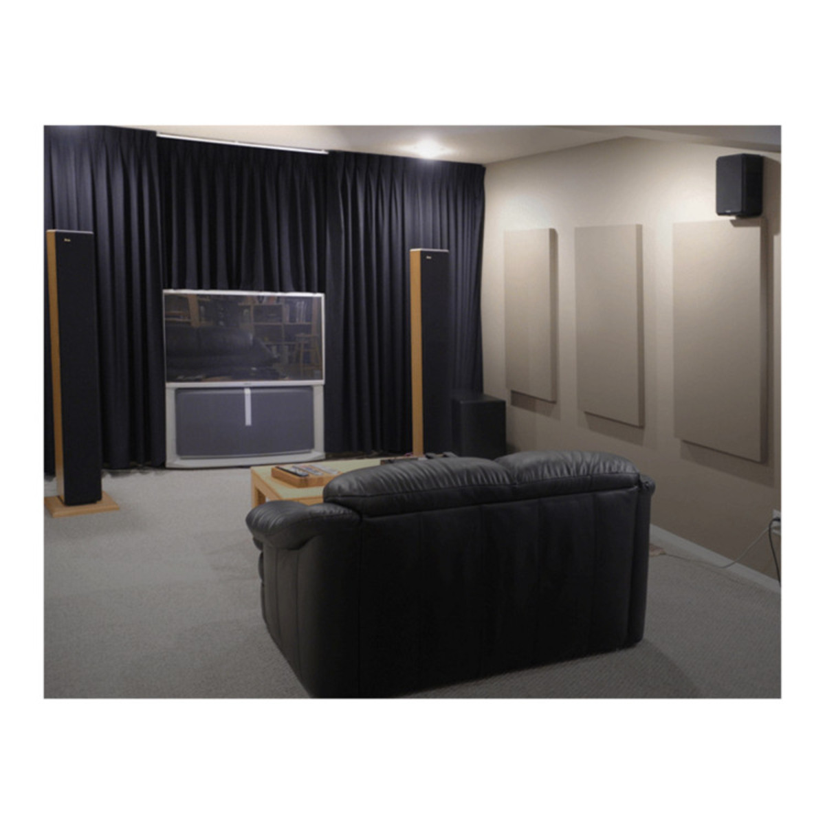 Primacoustic Paintables 12x48in Paintable Acoustic Panel, Bevel Edge ...