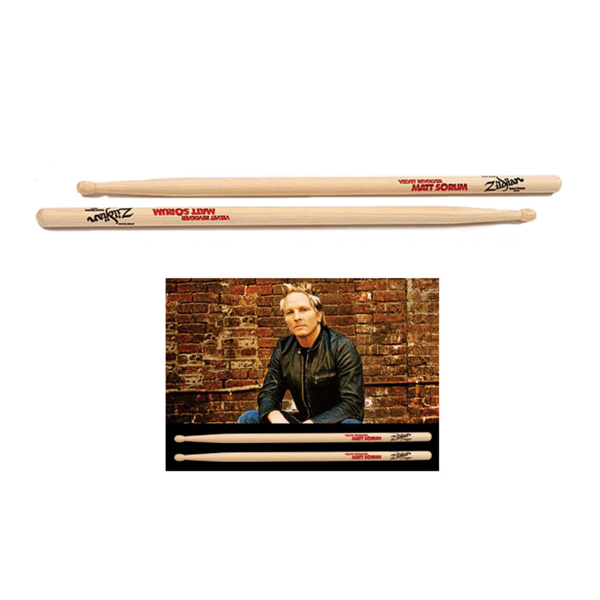 Click to view product details and reviews for Zildjian Sticks Matt Sorum Wood.