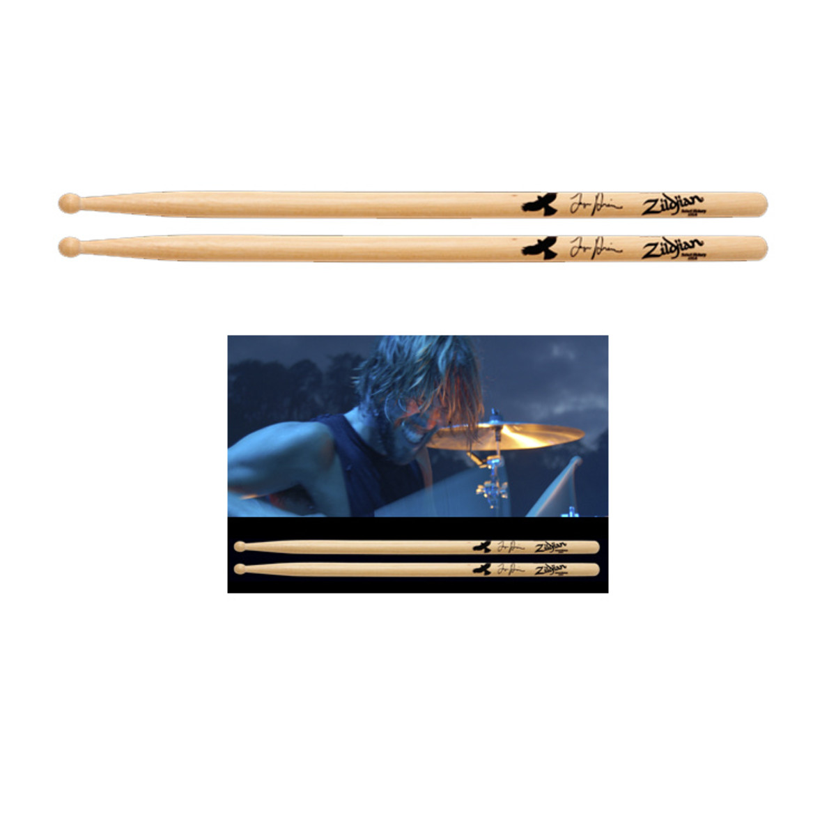 Click to view product details and reviews for Zildjian Taylor Hawkins Signature Drumsticks.