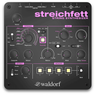 Waldorf Streichfett String Synthesizer