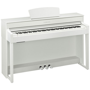 Yamaha Clavinova CLP535 Digital Piano, White