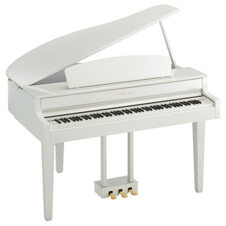 Yamaha Clavinova CLP56GP Digital Piano, Polished White