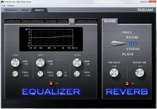 Tascam UH-7000 Computer Mixer Effects