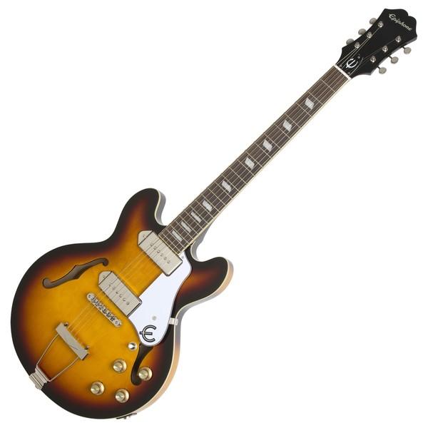 Epiphone Casino Coupe Electric Guitar, Vintage Sunburst