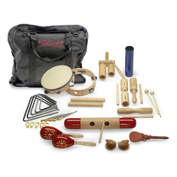 Stagg Junior Percussion Kit, with carry bag