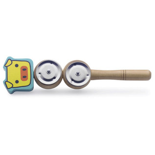 Stagg Wooden Jingle Stick (Pig)