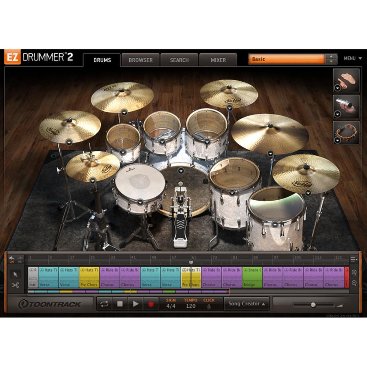 virtual drummer