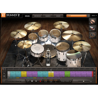 Toontrack EZdrummer 2 Virtual Drummer Software