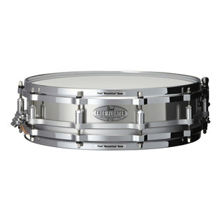 Pearl 14 Inch x 3.5 Inch 1mm Stainless Steel Free Floater Snare Drum