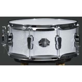 Ludwig Element Drive 5 Piece 22 Inch Drum Kit, White Sparkle
