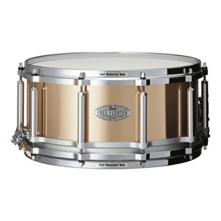 Pearl 14 Inchx6.5 Inch 1.2mm Phosphor Bronze Free Floater Snare Drum