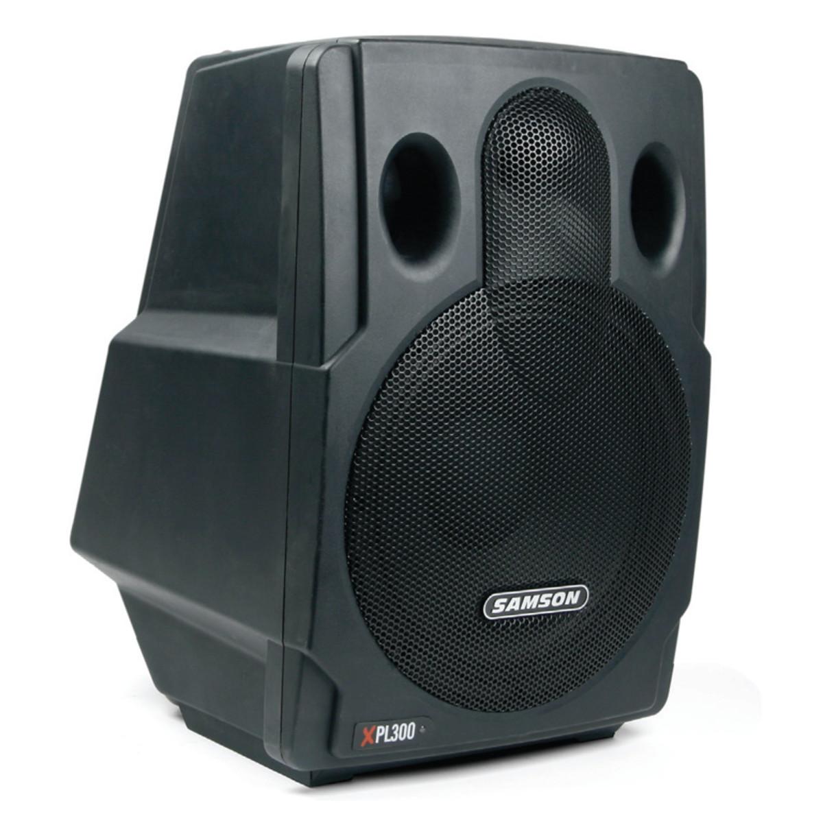 samson xpl300 syst me de sonorisation haut parleur chacun. Black Bedroom Furniture Sets. Home Design Ideas