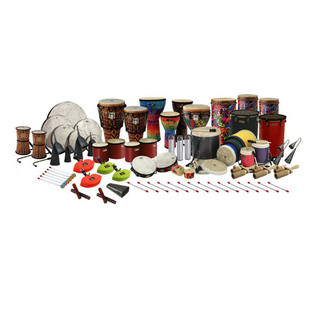 Remo Arthur Hull Drum Circle Facilitators Kit, Large