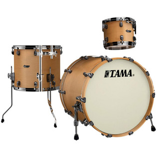Tama Starclassic Maple 3 Piece 22'' Shell Pack, Vintage Antique Maple