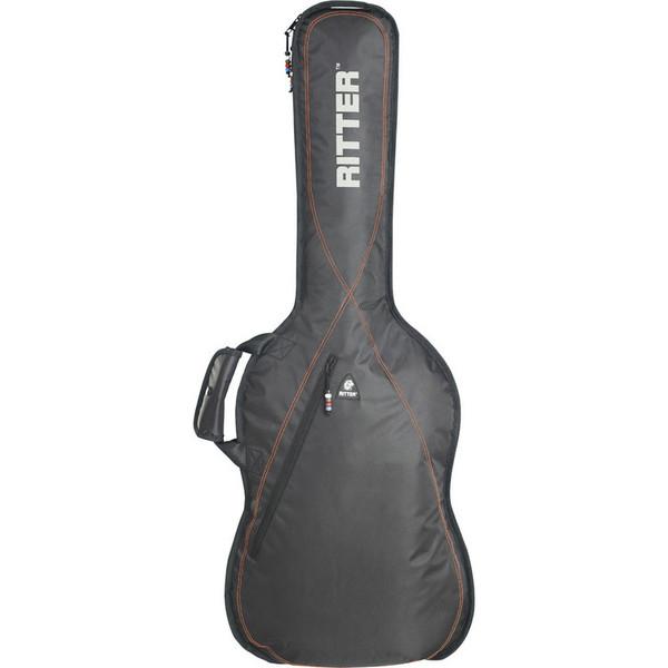 Ritter Performance RGP2 Guitar Bag, Classical 4/4, Black/Red