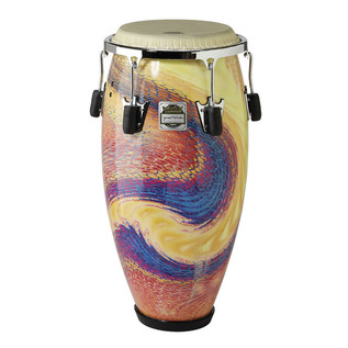 Remo 28 x 12.5 Inch Jimmie Morales Conga, Serpetine Day