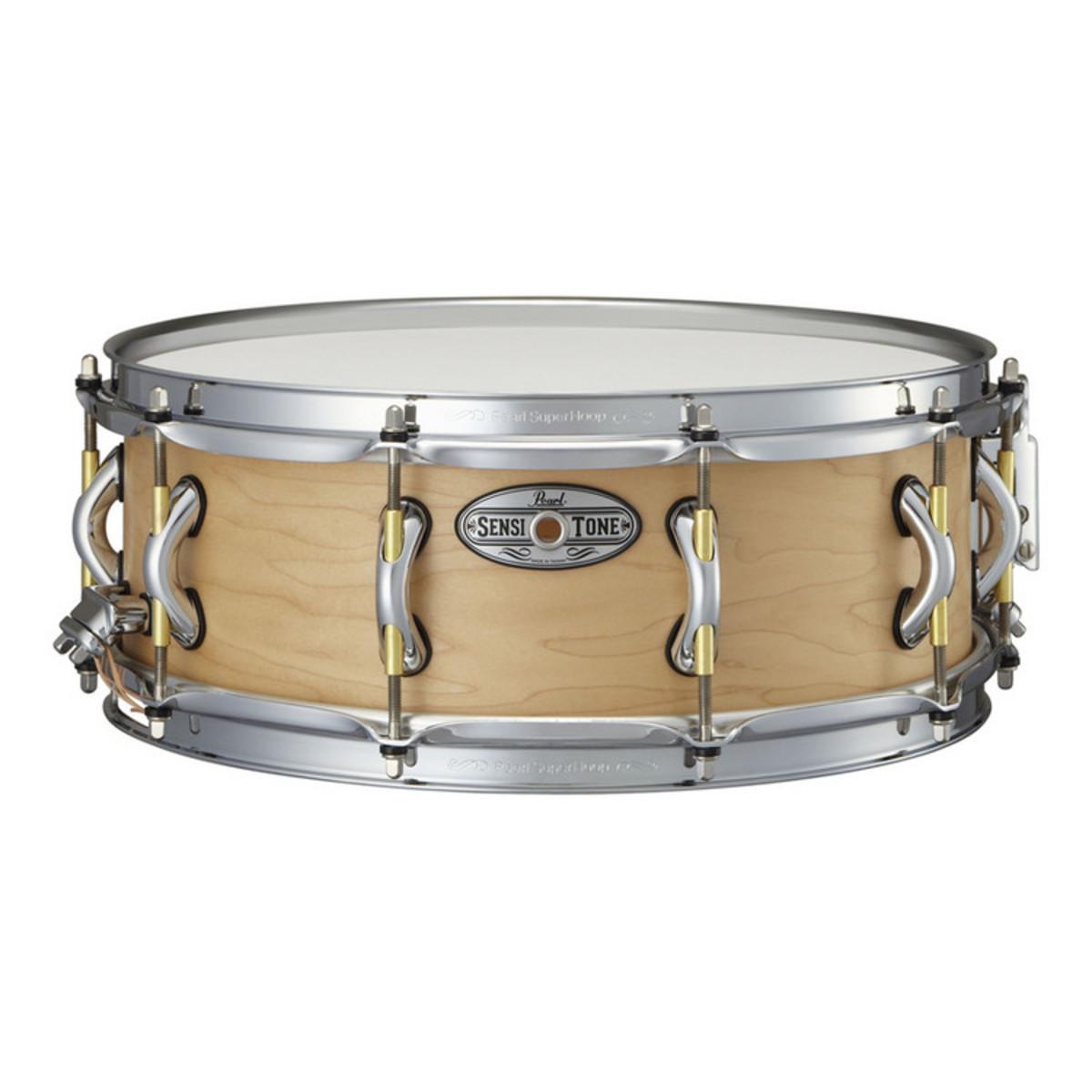 pearl sensitone premium 14 39 39 x 5 39 39 snare drum maple at gear4music. Black Bedroom Furniture Sets. Home Design Ideas