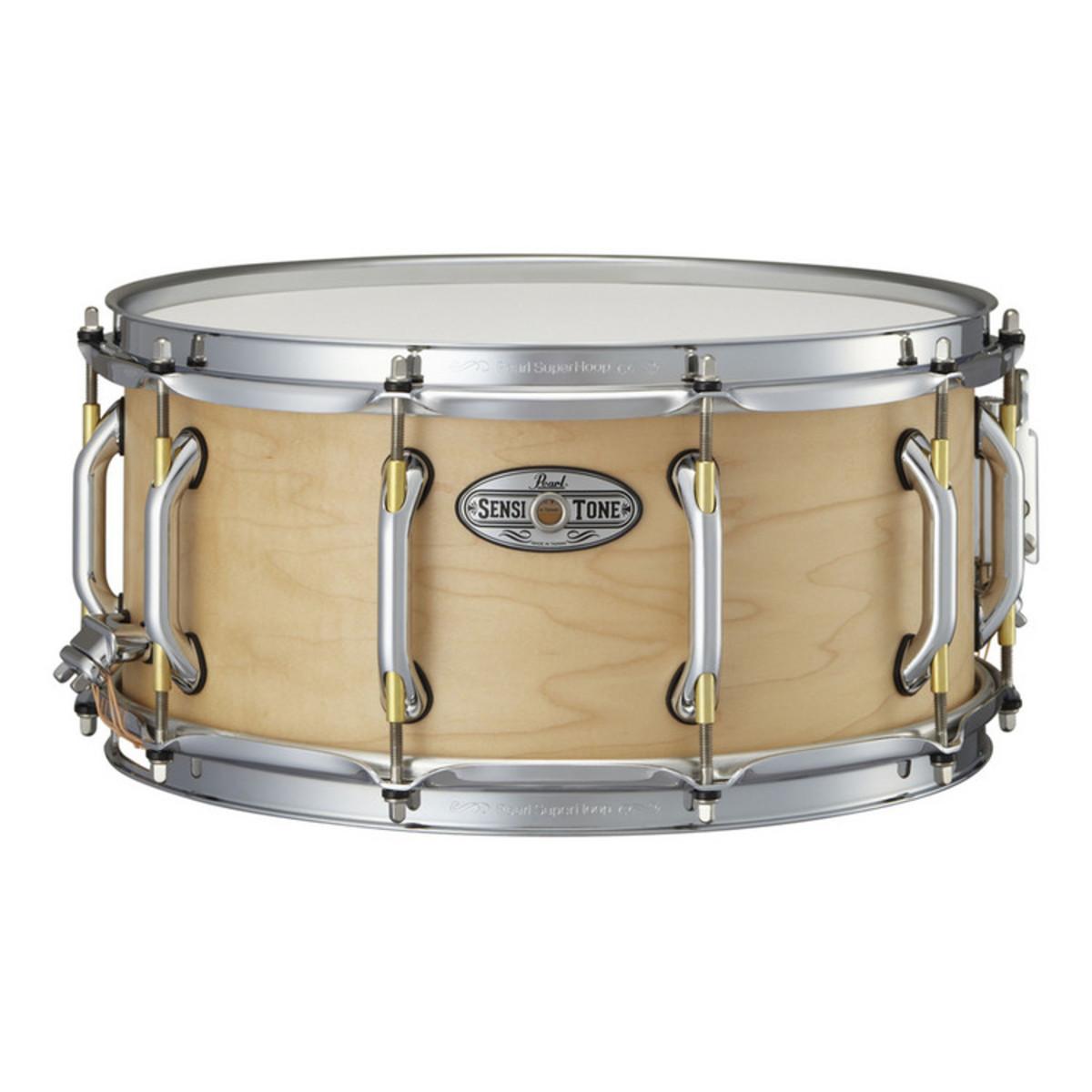 pearl sensitone premium 14 39 39 x 6 5 39 39 snare drum maple at gear4music. Black Bedroom Furniture Sets. Home Design Ideas