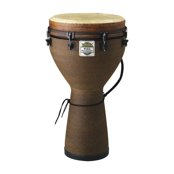 Remo 24 x 14 Inch Key Tuned Djembe, Earth