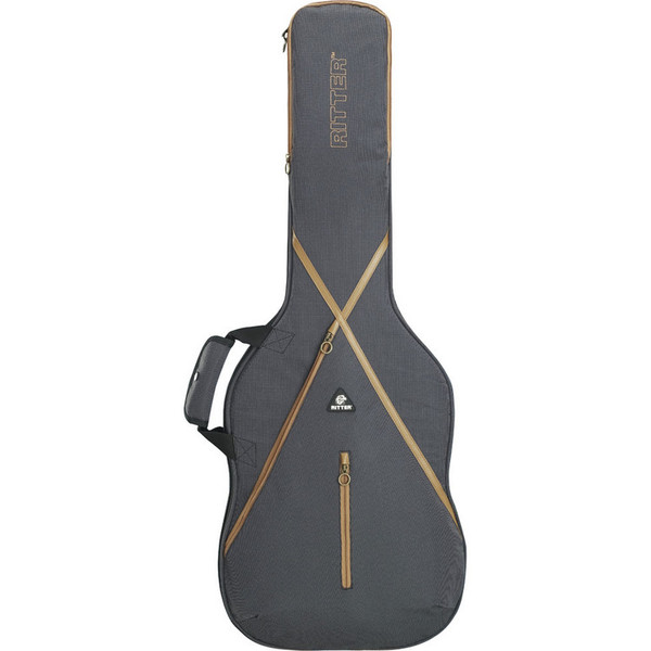 Ritter Session RGS7 Guitar Bag, Dreadnought, Leather brown