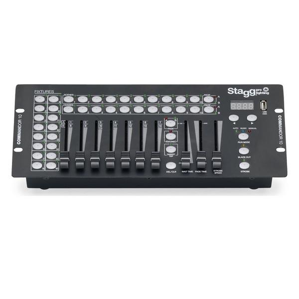 Stagg Commandor 16 Fixture DMX Controller w/USB