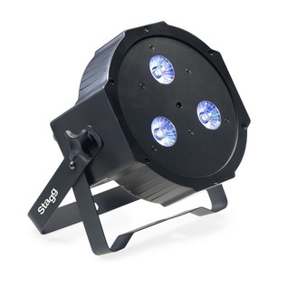 Stagg, Flat Spotlight with 3x 8W RGBW (4 in 1) LED