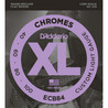 D'Addario ECB84 Chromes Bass gitarstrenger, Custom Light 40-100 lang