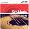 D'Addario EJ17 Phosphor Bronze-, Medium, 13-56