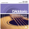 D'Addario EJ26 Bronze de fósforo, Custom Light, 11-52