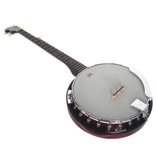 Ozark 2105GL 5 String Left Handed Banjo, with Gig Bag