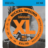 D'Addario EXL110 Cordes en nickel pour guitare électrique, Regular Light, 10-46, Regular Light 10-46
